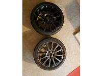 Renault Clio 197 Alloys with tyres x 2