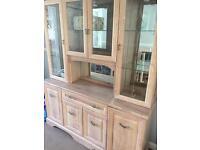 Lime oak cabinet