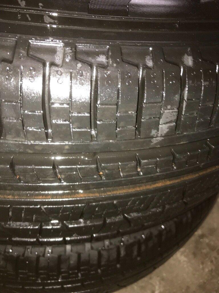 genuine 20 inch landrover evoque wheels pirelli tyres like brand new