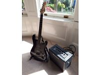 Fender Squier Electric Guitar and Amp Excellent condition