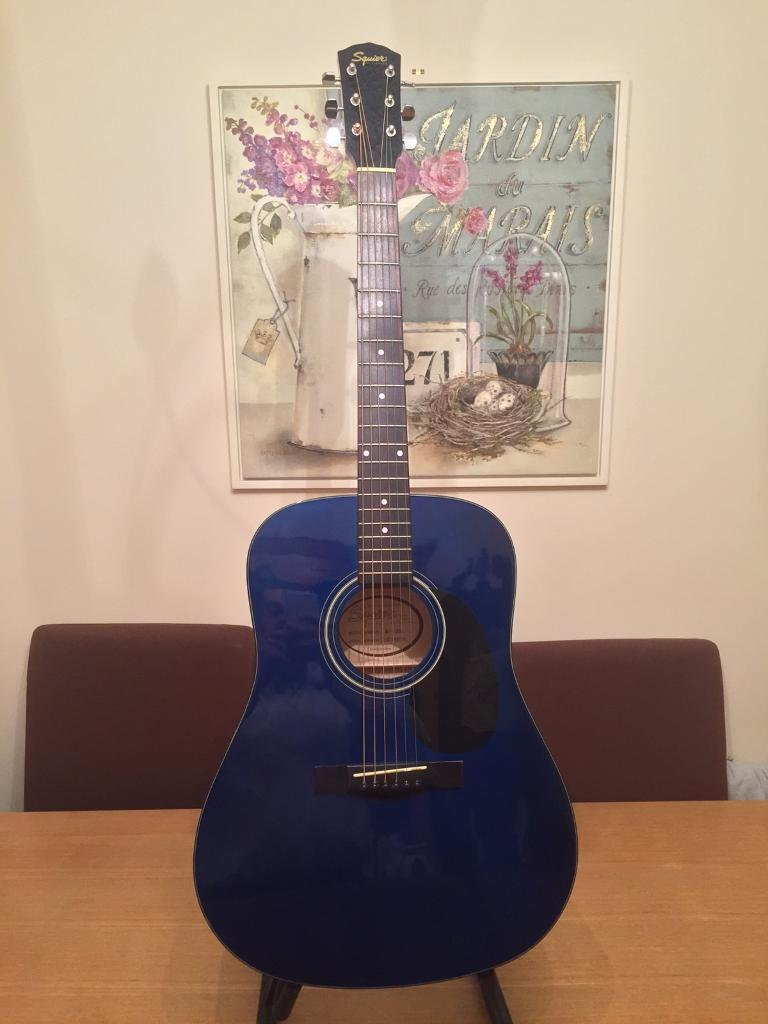 Squier by Fender 20th Anniversary acoustic guitar