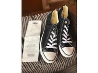 Black Converse Size 8