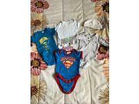 Newborn Baby boy Bundle Body Suit Super Baby