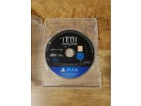 Excellent Condition - Star Wars Jedi Fallen Order - PS4 Game!