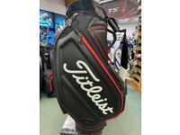 Titleist Jet Black Golf Tour Staff Bag TB9SF9-0