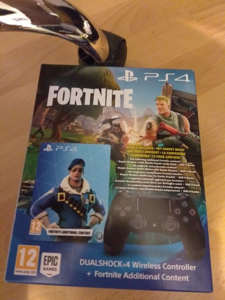 Fortnite Battle Royale -RARE Bomber Skin - 500 V Bucks - And New Controller  PS4 | in Thorpe Hesley, South Yorkshire | Gumtree
