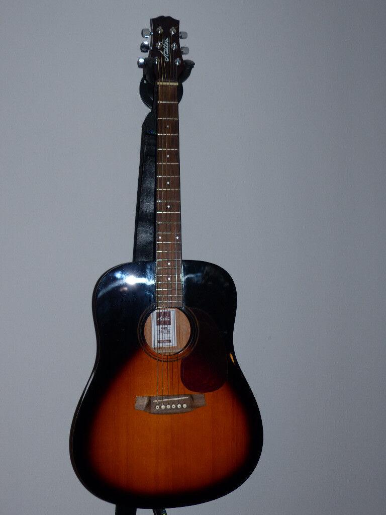 Ashton D20 TSB Acoustic Dreadnought Guitar.