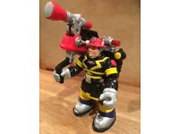 VGC RARE 2001 Fisher Price Mattel BILLY BLAZES Rescue Heroes action figure figures. 6 inch tall