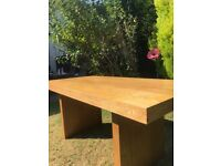 Table and benches set for sale very heavy