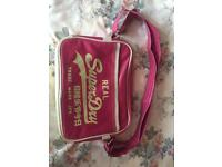 Fuschia Pink Superdry Bag