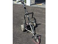 POWAKADDY GOLF TROLLEY AND BATTERY