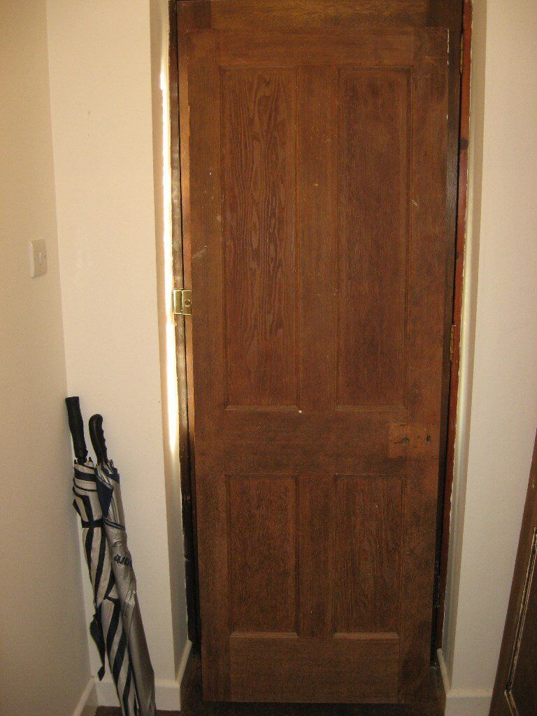 3 x Solid Pine Doors from 1930's House (already stripped)