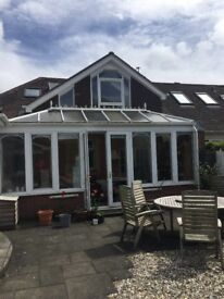 Conservatory for sale. 21 ft x 8 ft 3.