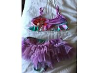 Little Bikini and Cover up Disney Store age 4-5