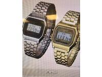 Joblot 50 watches Casio style