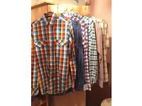 6 Men's shirts size S