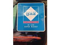 Camping gaz international de luxe super bleute stove cooker vintage