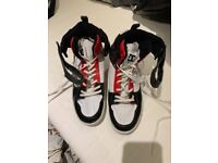 DC Basketball trainers almost new uk 9.5