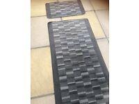 Lovely runner and matching door mat