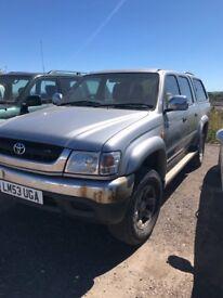 Toyota hilux vx 4wd