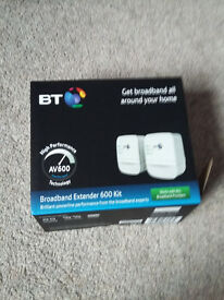BT Homeplug Adapters