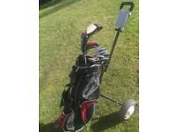 Golf Set & Trolley | Black Ice Golf Clubs, Bag & Trolley