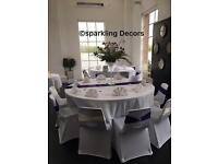 Summer offer 100 guests only £400.00 We decorate for weddings, and all big and small celebrations