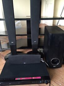 LG SURROUND SOUND AND HD DVD PLAYER