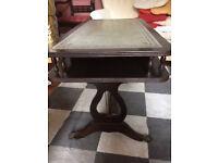 Mahogany coffee table.