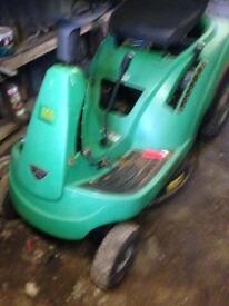Ride on mower