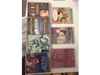 All 7 audiobooks cassettes £5