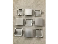 Brushed Stainless Steel Kitchen Unit Handles