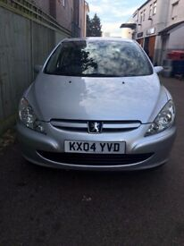 Peugeot 307 S. Silver   Hatchback   2004   1.4CC   ONLY 2 former keepers. Excellent condition