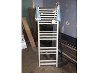 Towel Radiator with optional electric element, 2 year use, great condition