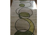 Modern Decorative Aspects Beige Rug Medium