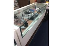 Shop glass display counters £550 each