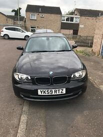 Bmw 118d sport manual, 5 door, £30 yearly tax, very economical