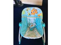 FINDING NEMO Infant to Toddler baby Rocker