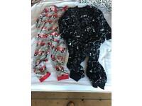 Boys Next and M&S pyjama and onesie bundle age 5-6 years