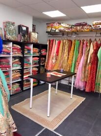 Shop Lease for Sale, Asian Partywear Clothing, Suits, Sarees, Lehngas, Good Customer Base and Margin