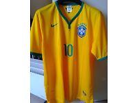 New Brazil National Team football top