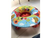 Red Kite-Garden Gang- Sit me up inflatable ring with play tray