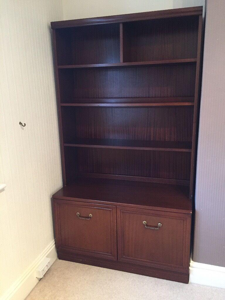 G Plan Mahogany Garrick Dresser And Corner Unit