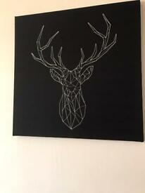 Black wall art