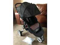 CAN POST EXCELLENT COND BABY JOGGER CITY MINI PUSHCHAIR RAINCOVER AWARD WINNING PRAM BUGGY RRP £315