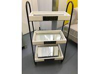 Bathroom shelves/trolley - shabby chic