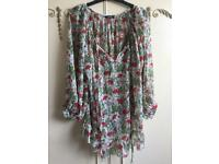 Floral blouse Italy
