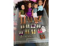 Designer dolls bundle