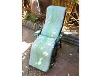 2x garden sun loungers