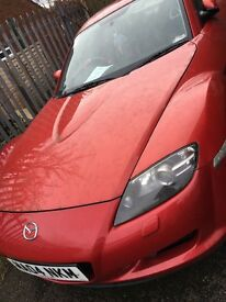 Mazdarx8 red coupe 231 sport
